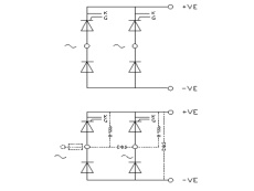 Single Phase Half Controlled Bridge (common cathode thyristors) - B2HK logo